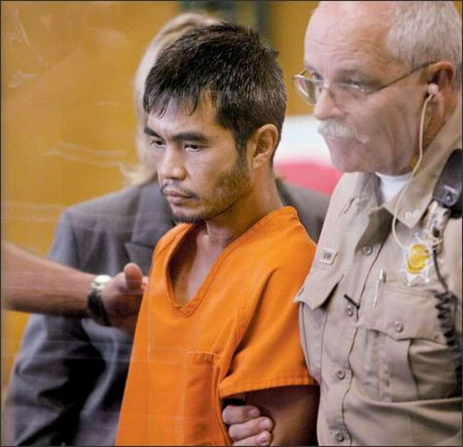 Terapon Adhahn in court Thursday. Photo: Scott Eklund/P-I