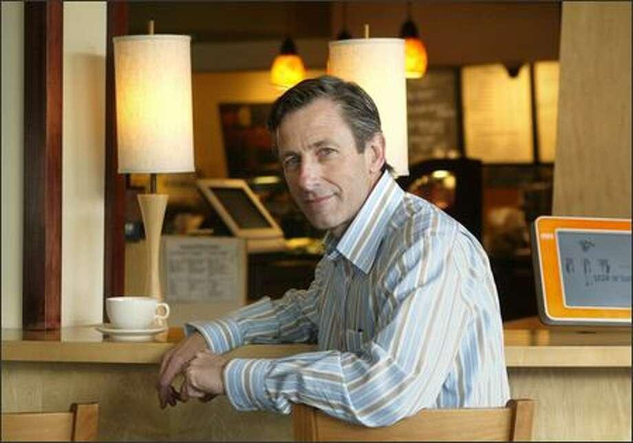 Starbucks CEO Jim Donald says he takes a long-term view. Photo: Dan DeLong/Seattle Post-Intelligencer
