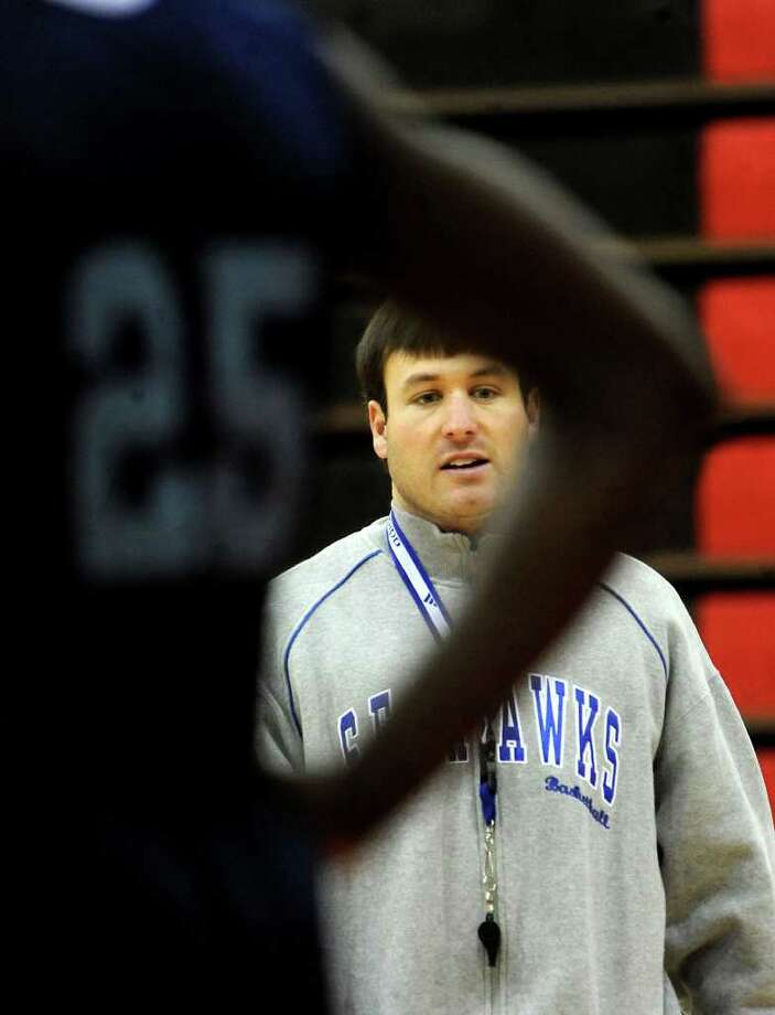 Matt Cross is one of eight candidates for Lamar's vacant coaching position. Cross, 27, is currently the head coact at Lamar State College-Port Arthur. He has compiled a 92-42 record in his four years as a head coach at LSC-PA, Texas College and Talladega College. Photo: TAMMY MCKINLEY / Beaumont
