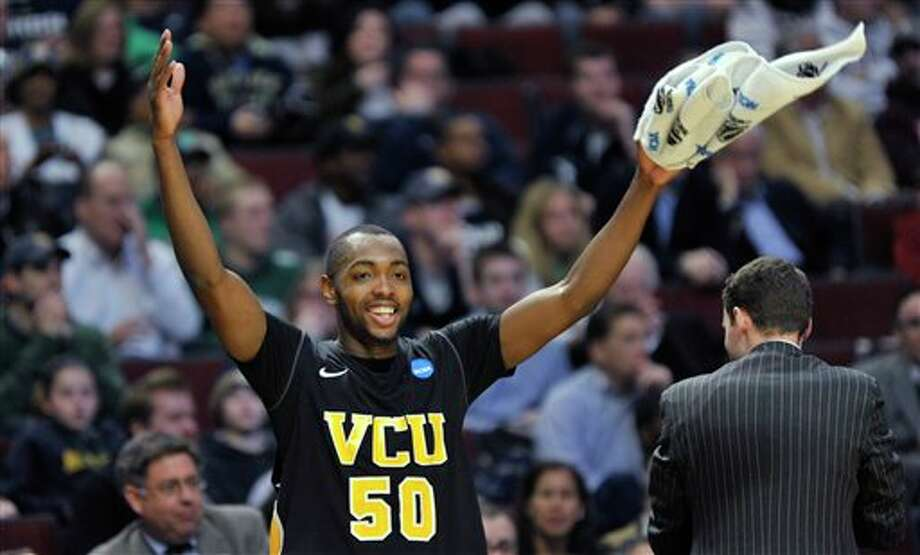 Ed Nixon and the 11th-seeded VCU Rams are coming here, along with No. 12 seed Richmond. Will attendance suffer? JIM PRISCHING/ASSOCIATED PRESS / AP2011
