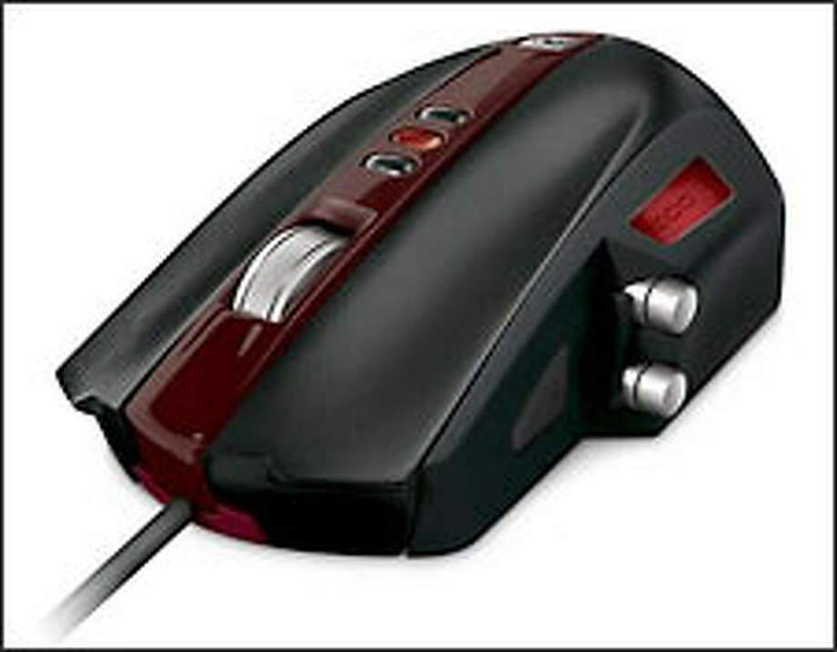 The new SideWinder mouse