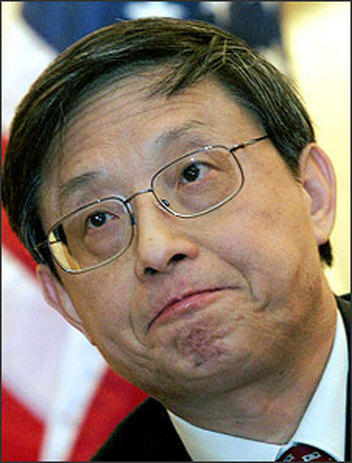 Zhou Wenzhong, China's ambassador to the U.S.