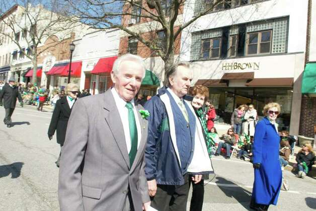 Saint Patricks Day, Greenwich Avenue, Greenwich, Connecticut Photo: Photos:  John Ferris Robben