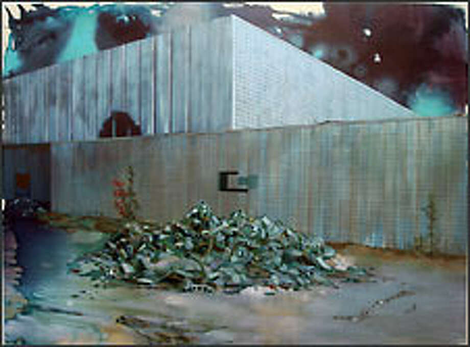 """With """"Chronicles of Dispersion,"""" Angelina Gualdoni finds beauty in the rubble."""