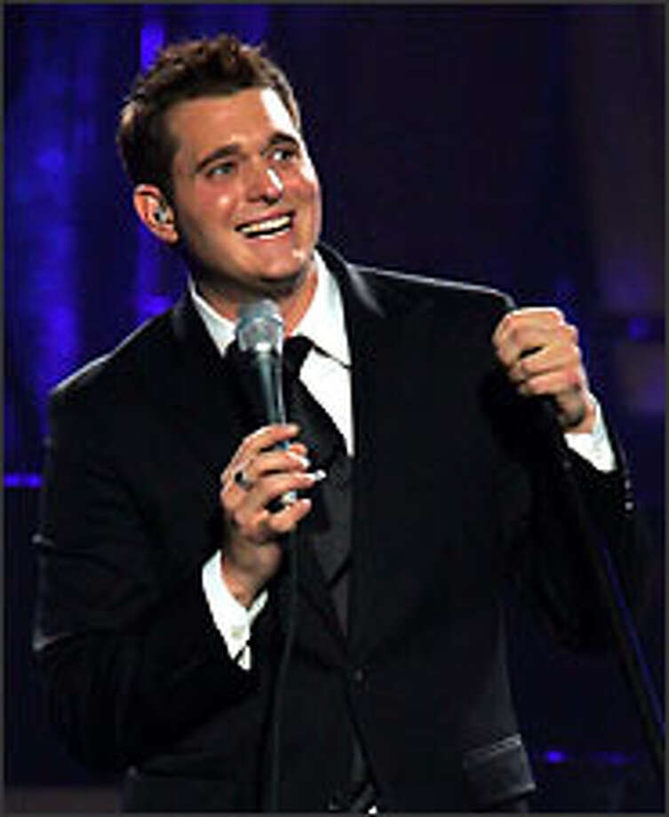 Born in Burnaby, B.C., in 1975, Michael Bublé grew up listening to his Italian grandfather's record collection, which included many of the standards he now sings. Bublé works to remain respectful of traditions laid down by the likes of Frank Sinatra, Tony Bennett and Bobby Darin while also pushing the stylistic envelope. Photo: Getty Images