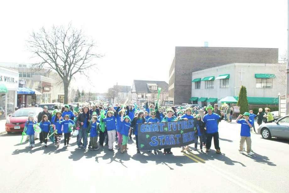 Saint Patrick's Day Parade, Greenwich, Connecticut, 2011 Photo: Photos:  John Ferris Robben