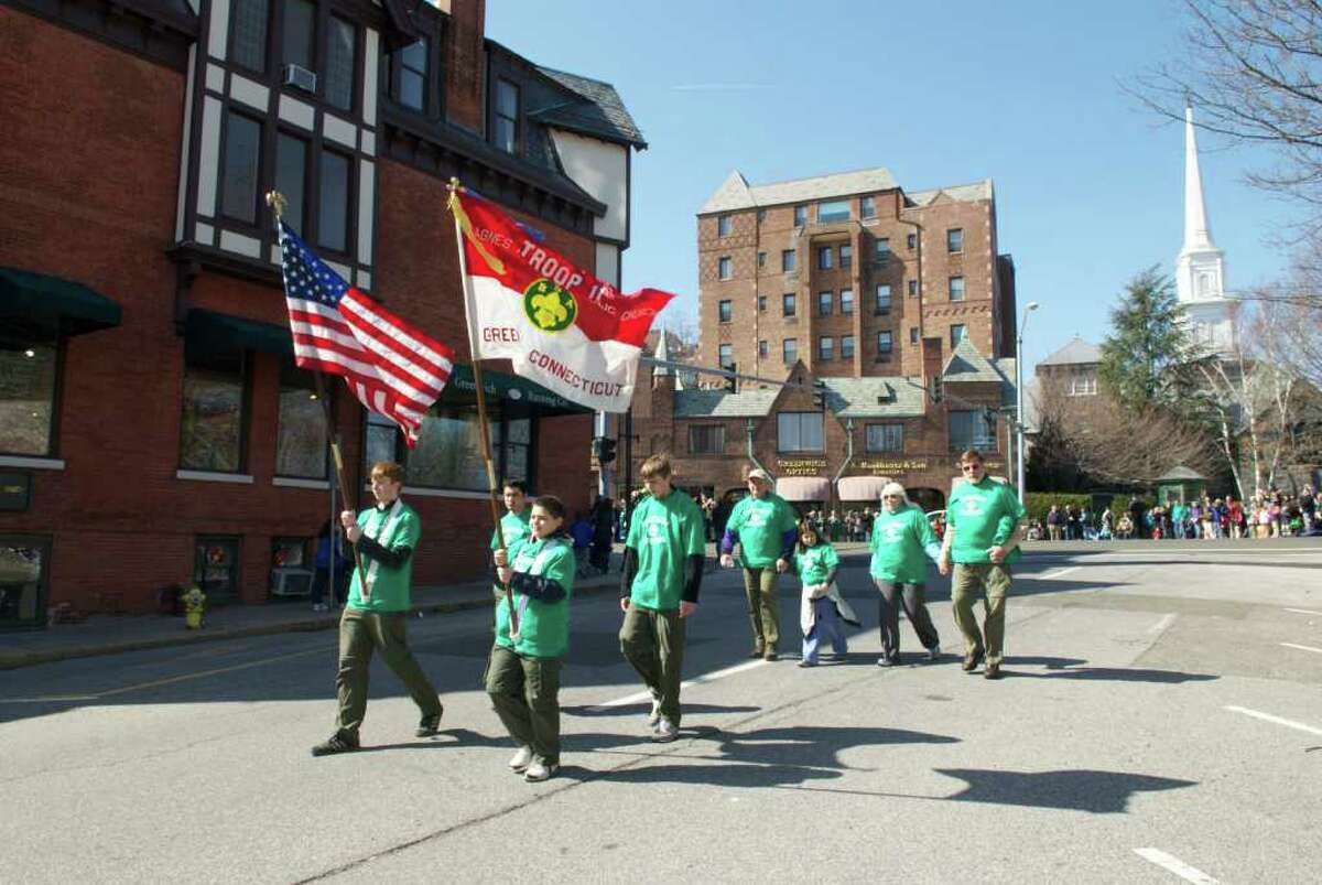 Saint Patrick's Day Parade, Greenwich, Connecticut, 2011