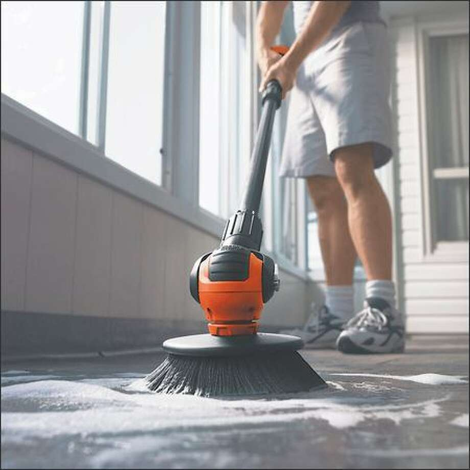 Black and Decker cordless power scrubber Photo: /