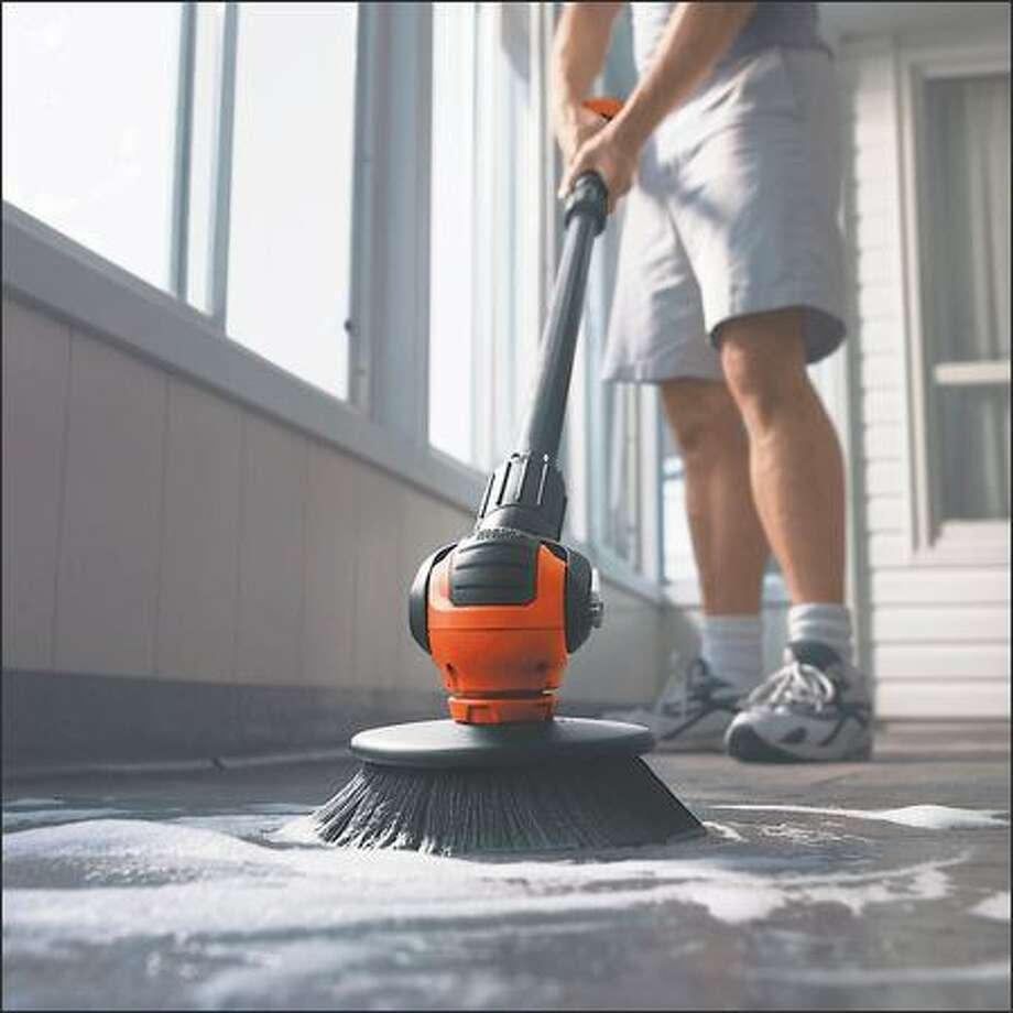 Black and Decker cordless power scrubber Photo: /