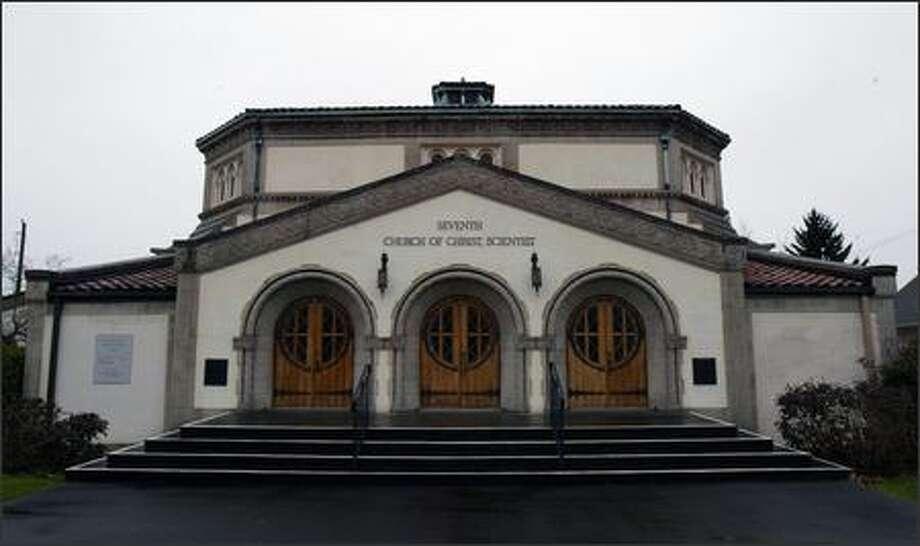 The Seventh Church of Christ, Scientist, will remain a church. Photo: Joshua Trujillo/P-I File