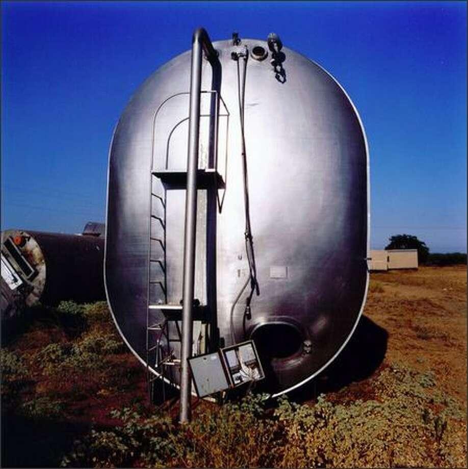 "Arthur S. Aubry's ""Pill Tank"" Photo: /"