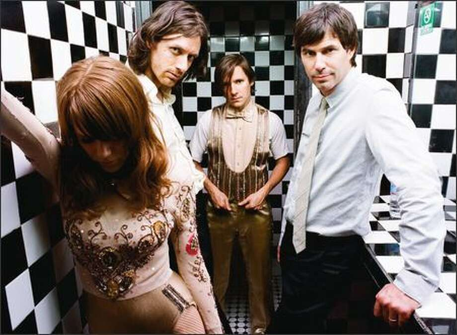 Rilo Kiley is an alternative rock band that flirts with sounds of classic rock. Photo: /