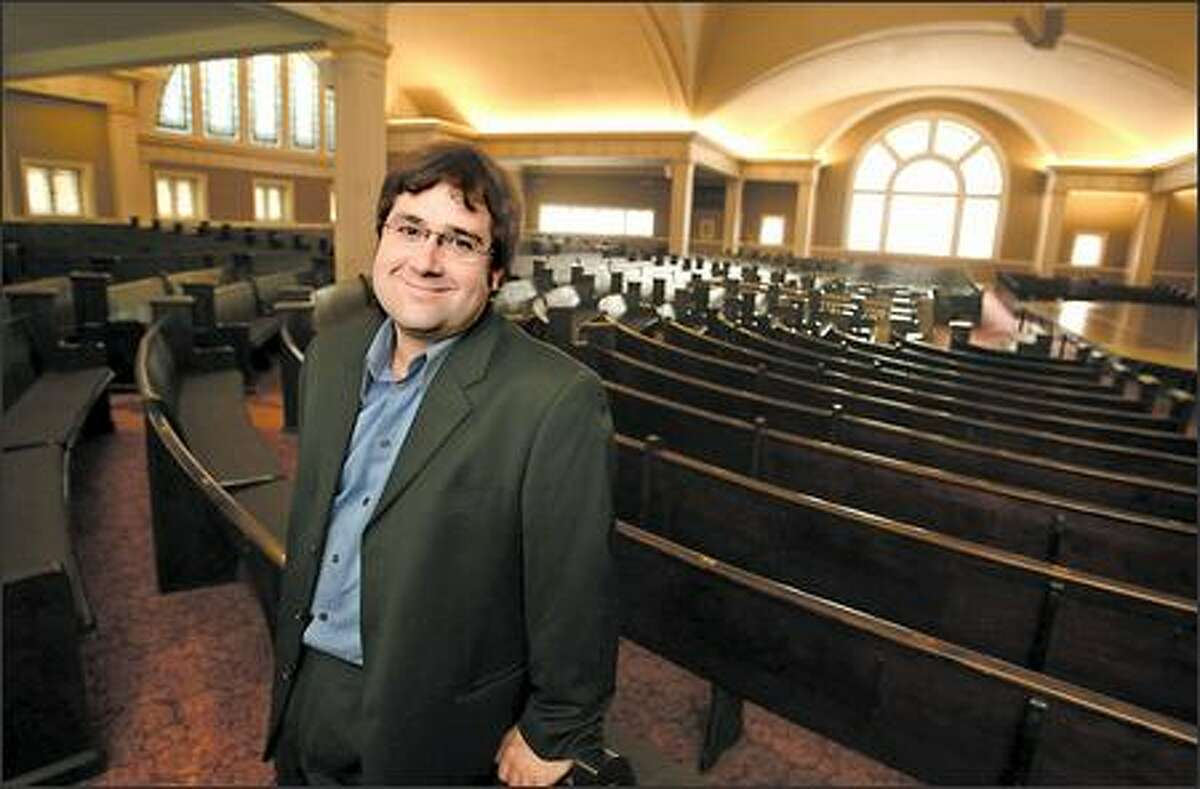 """Under Executive Director Weir Harman, Town Hall has grown from a """"student union"""" for adults to include works for children and young people, as well as various ethnic, cultural and musical groups."""