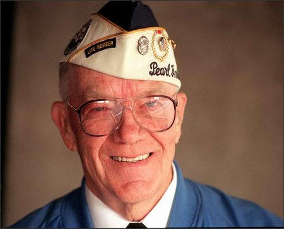 Al Weddle, Pearl Harbor Survivors State Chairman. Photo: /