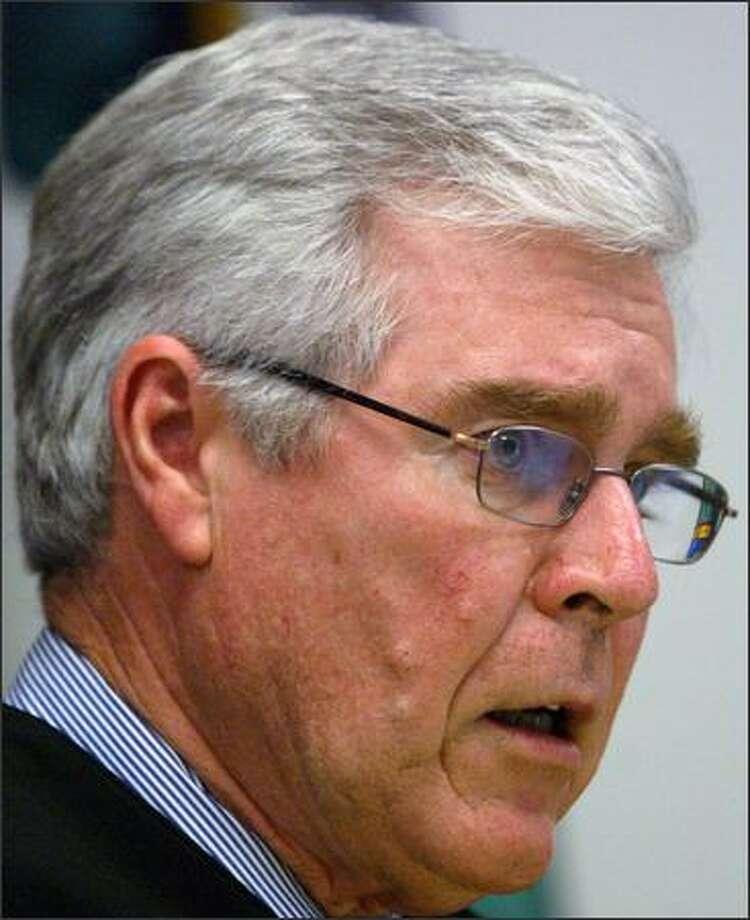 Judge Harry McCarthy's ruling was deemed improper. Photo: Karen Ducey/Seattle Post-Intelligencer