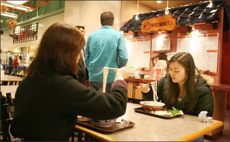 Uwajimaya's global cafes shame mall food courts
