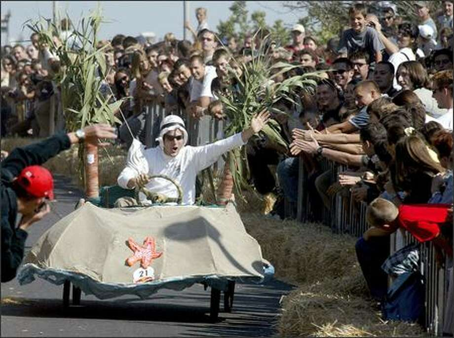 The Red Bull Soapbox Race Photo: /