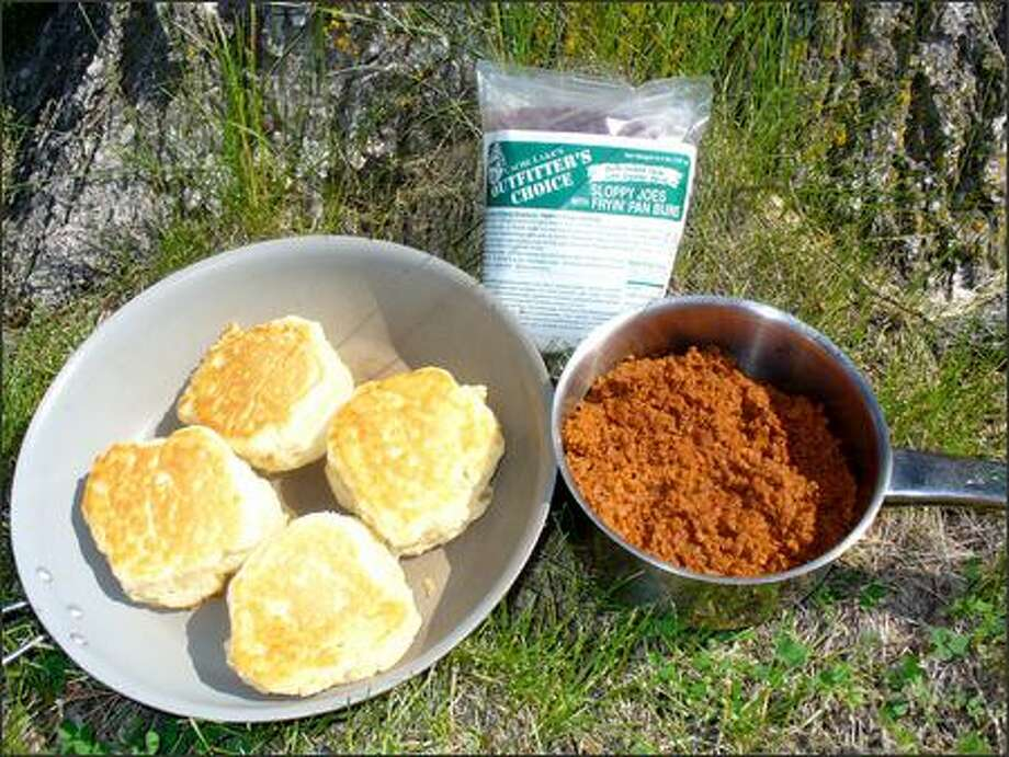 The Fryin' Pan Buns are good enough to eat by themselves, but they also make a solid Sloppy Joe. Photo: /