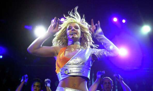"Britney Spears performs in support of her ""Oops...I Did It Again."" album Thursday July 20, 2000 at the Alamodome in San Antonio, Texas. (PHOTO BY Edward A. Ornelas/STAFF ) Photo: EDWARD A. ORNELAS, EN / EN"