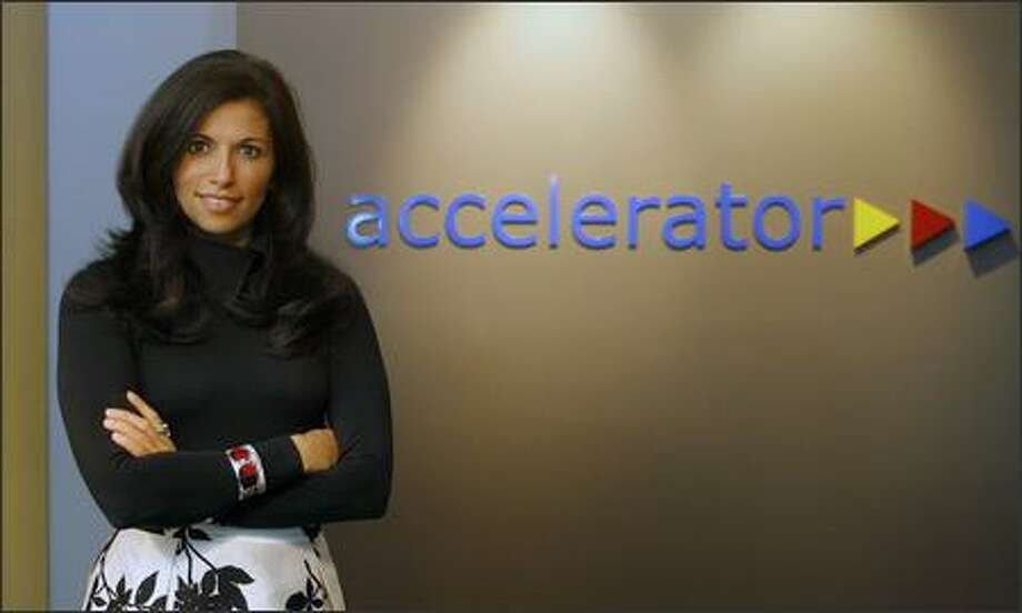 Accelerator incubated Allozyne, whose new CEO is Meenu Chhabra. Photo: Gilbert W. Arias/Seattle Post-Intelligencer