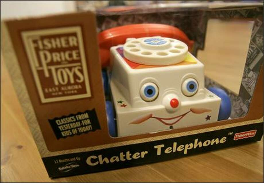 The Chatter Telephone, a Fisher Price classic Photo: Mike Kane/P-I