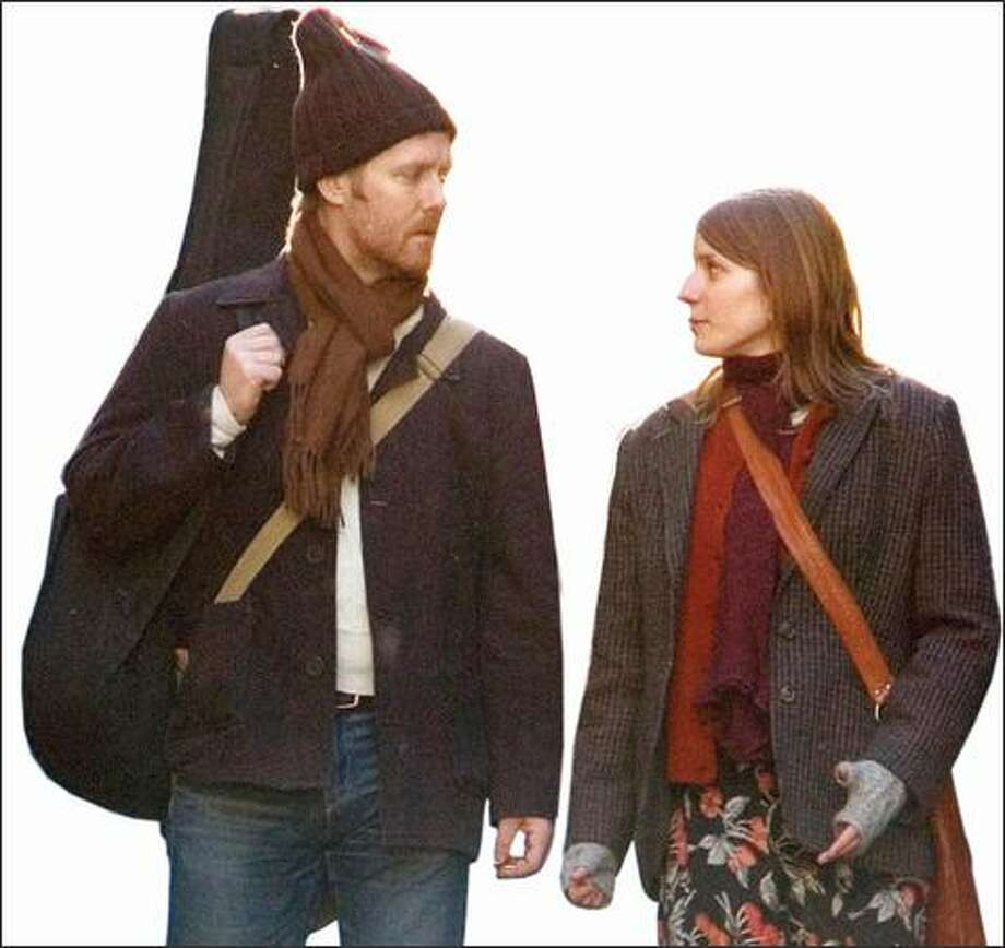 "Glen Hansard, left, and Marketa Irglova in ""Once."" Photo: Fox Searchlight Pictures"