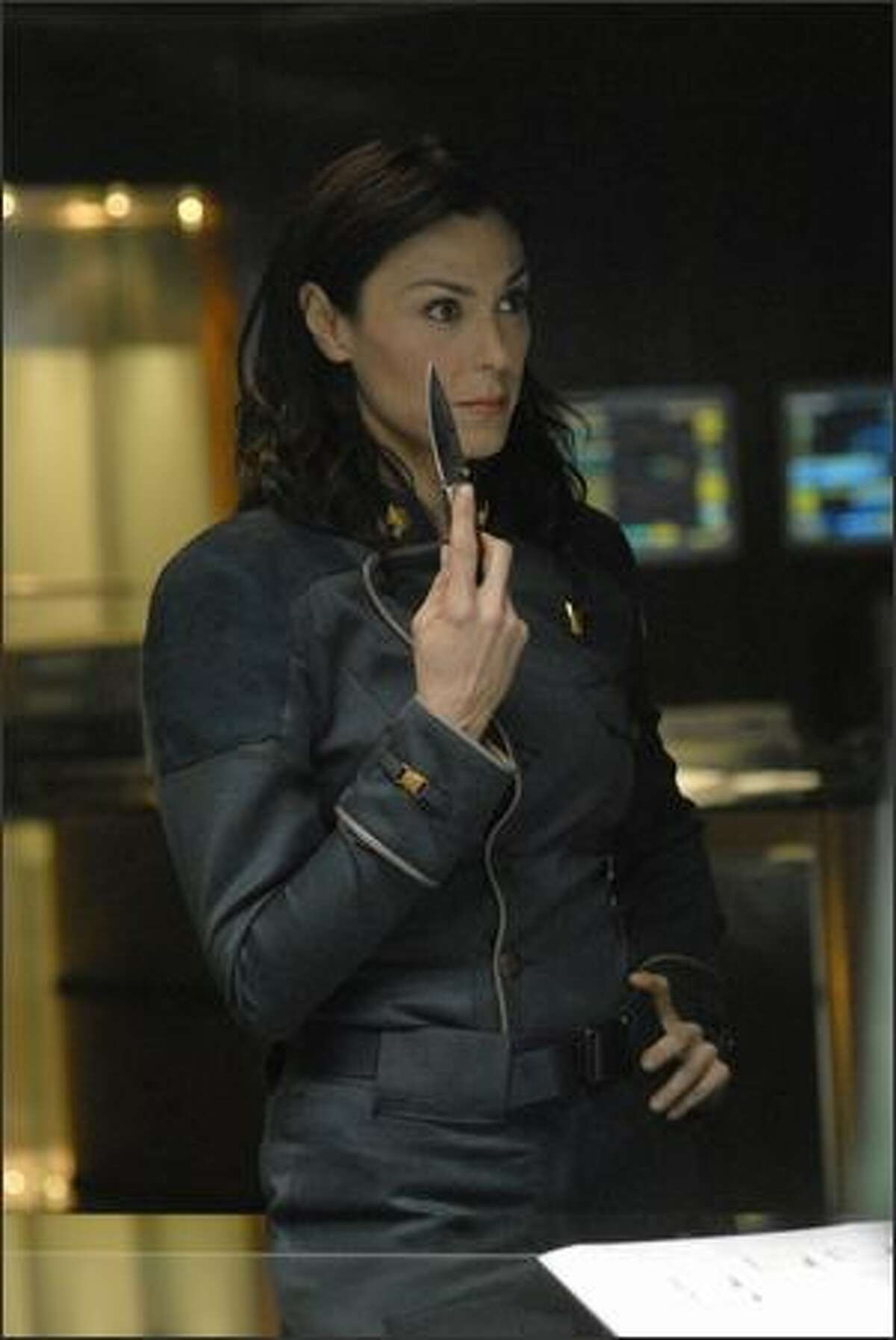 """""""Razor"""" offers more insight into the ruthless Admiral Cain (Michelle Forbes), but makes her no less unsympathetic."""