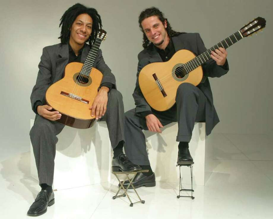 The Brasil Guitar Duo will perform March 26 at the Pequot Library. Photo: Contributed Photo / Fairfield Citizen contributed