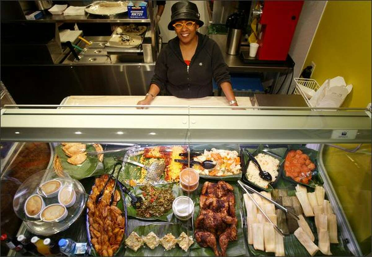 Naomi Andrade Smith draws on her Afro-Mexican-Native American roots to shake up her tasty fare.