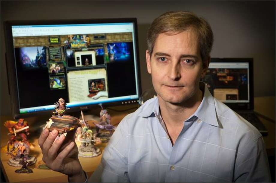 Ed Fries, former vice president of Microsoft Game Studios, has spent most of his life playing or creating computer games. (Richard Brown photo) Photo: /
