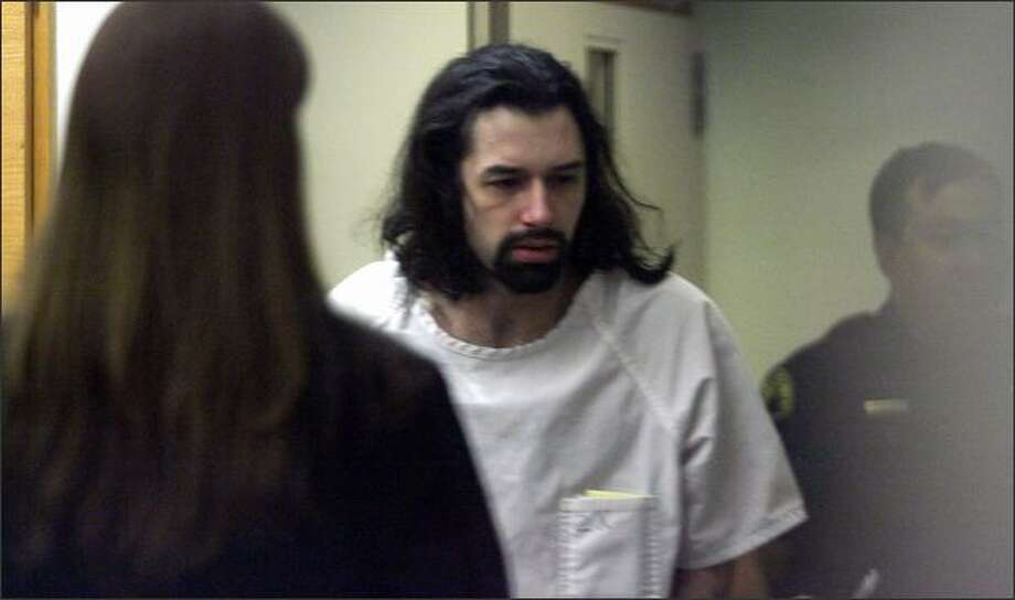 Joseph Thomas McEnroe, pictured shortly after his arrest. Photo: Dan DeLong/Seattle Post-Intelligencer