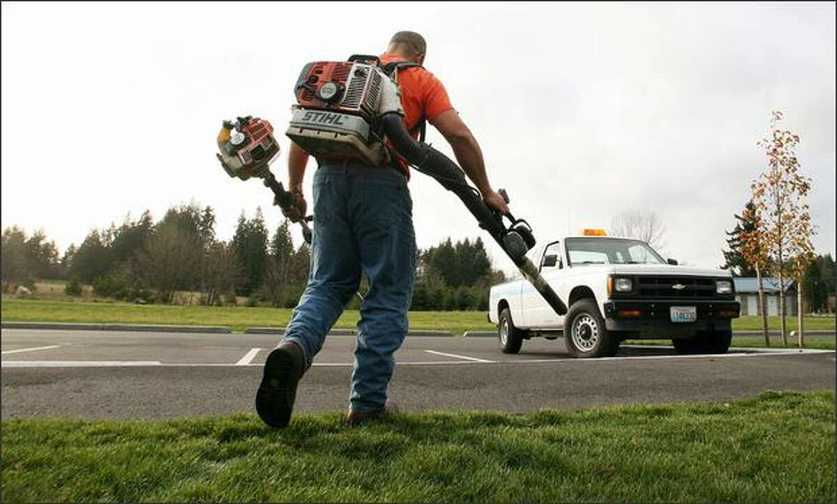Garry Naipo has worked in park maintenance for the city of Lacey for 23 years. Since he returned from Iraq, he's had difficulty working with a crew, preferring to work alone. His supervisor has been supportive, noting that he is such a hard worker that two people would have to be hired to replace him.