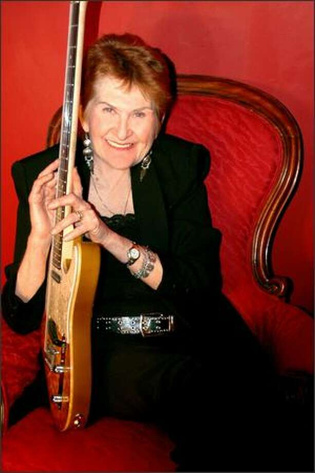 Alice Stuart, a fixture on Northwest blues stages since the 1960s, is headed for Memphis to compete in the 24th International Blues Challenge. Photo: /