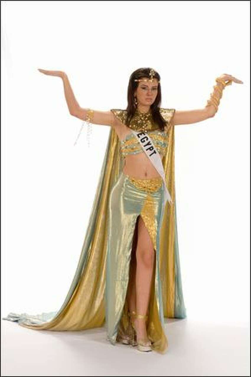 Yara Naoom, Miss Egypt 2008.