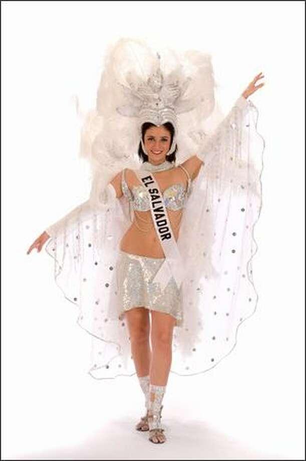 Rebeca Moreno, Miss El Salvador 2008. Photo: Miss Universe L.P., LLLP
