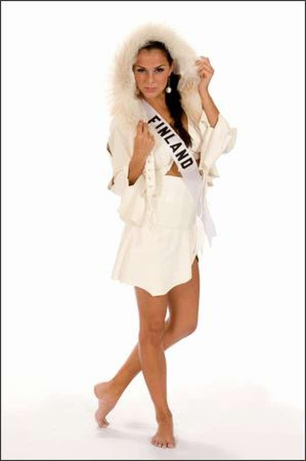 Satu Tuomisto, Miss Finland 2008. Photo: Miss Universe L.P., LLLP