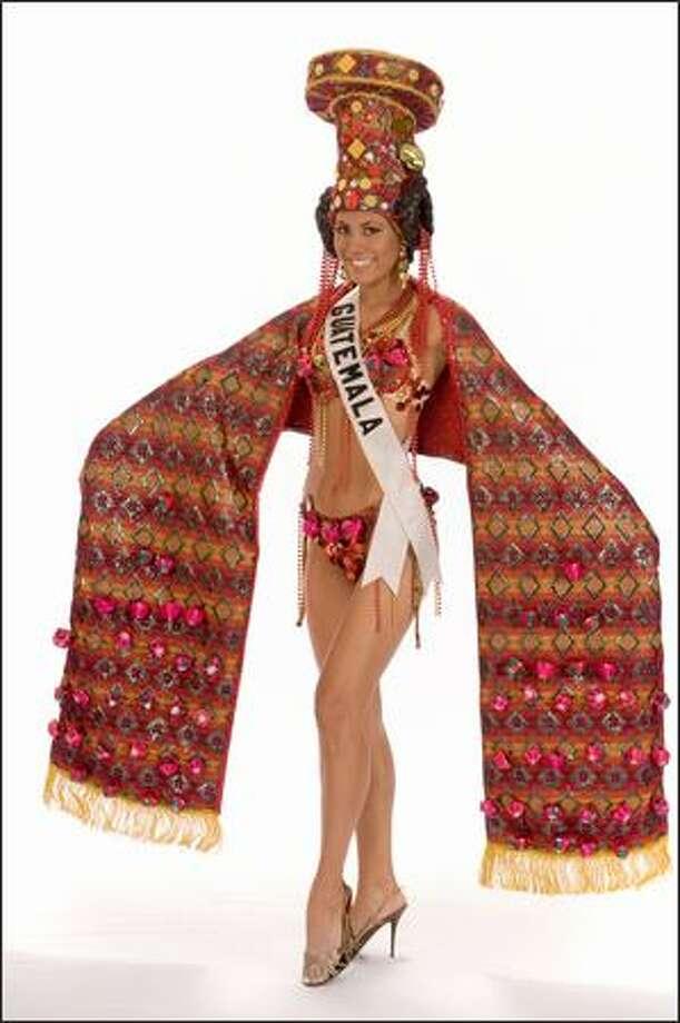 Jennifer Chiong, Miss Guatemala 2008. Photo: Miss Universe L.P., LLLP