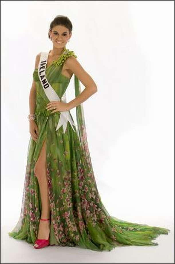 Lynn Kelly, Miss Ireland 2008. Photo: Miss Universe L.P., LLLP