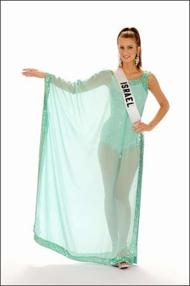 Shunit Faragi, Miss Israel 2008. Photo: Miss Universe L.P., LLLP