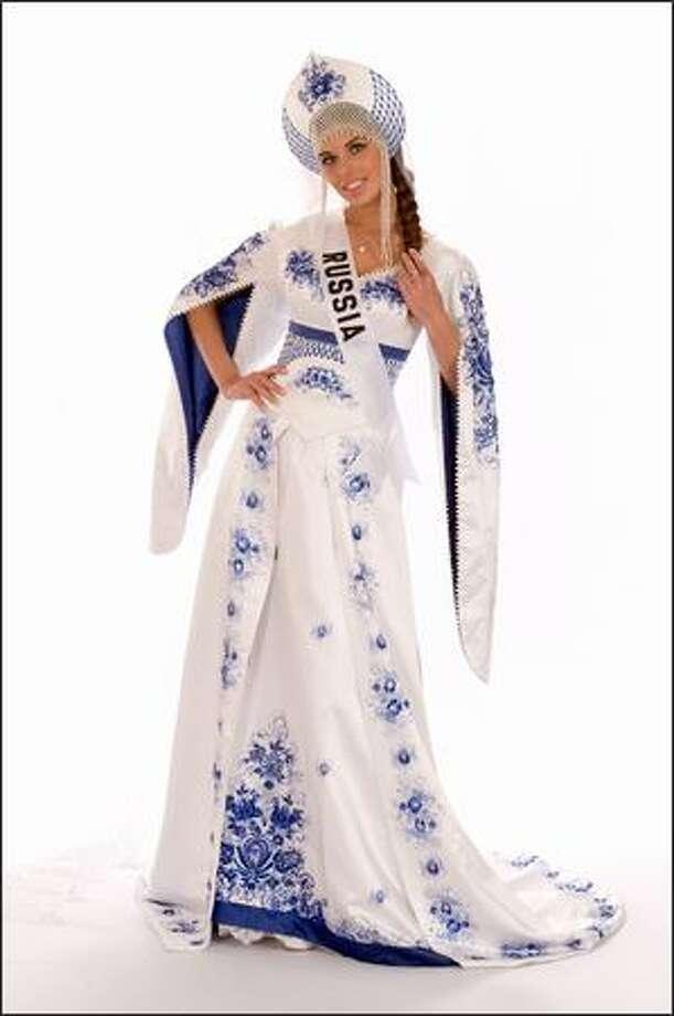 Vera Krasova, Miss Russia 2008. Photo: Miss Universe L.P., LLLP