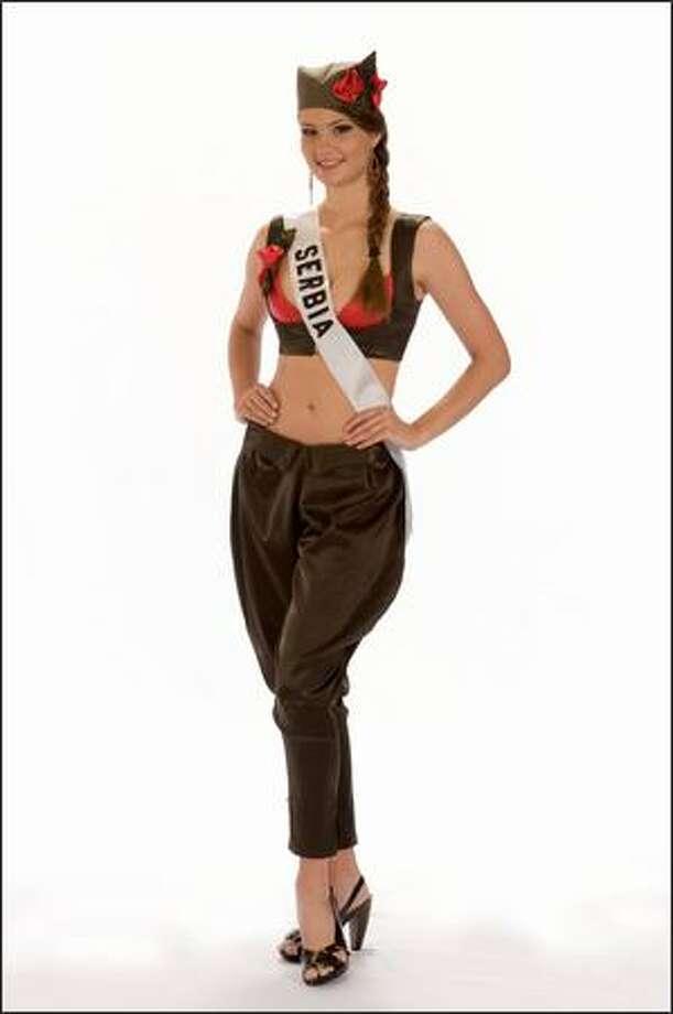 Bojana Boric, Miss Serbia 2008. Photo: Miss Universe L.P., LLLP