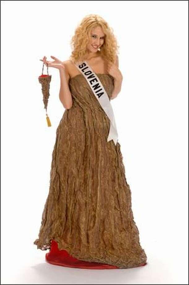 Anamarija Avbelj, Miss Slovenia 2008. Photo: Miss Universe L.P., LLLP