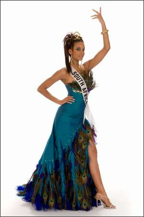 Finalist No. 8 of 10: Tansey Coetzee, Miss South Africa 2008. Photo: Miss Universe L.P., LLLP