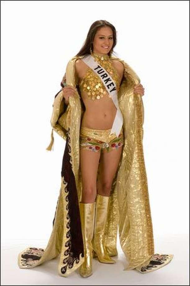 Sinem Sulun, Miss Turkey 2008. Photo: Miss Universe L.P., LLLP