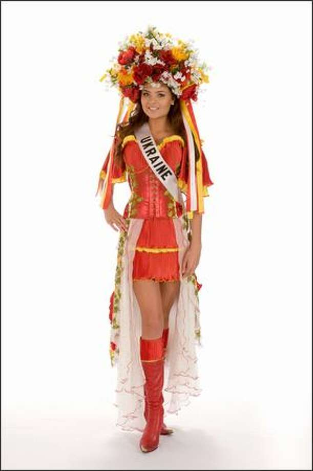 Eleonora Masalab, Miss Ukraine 2008. Photo: Miss Universe L.P., LLLP