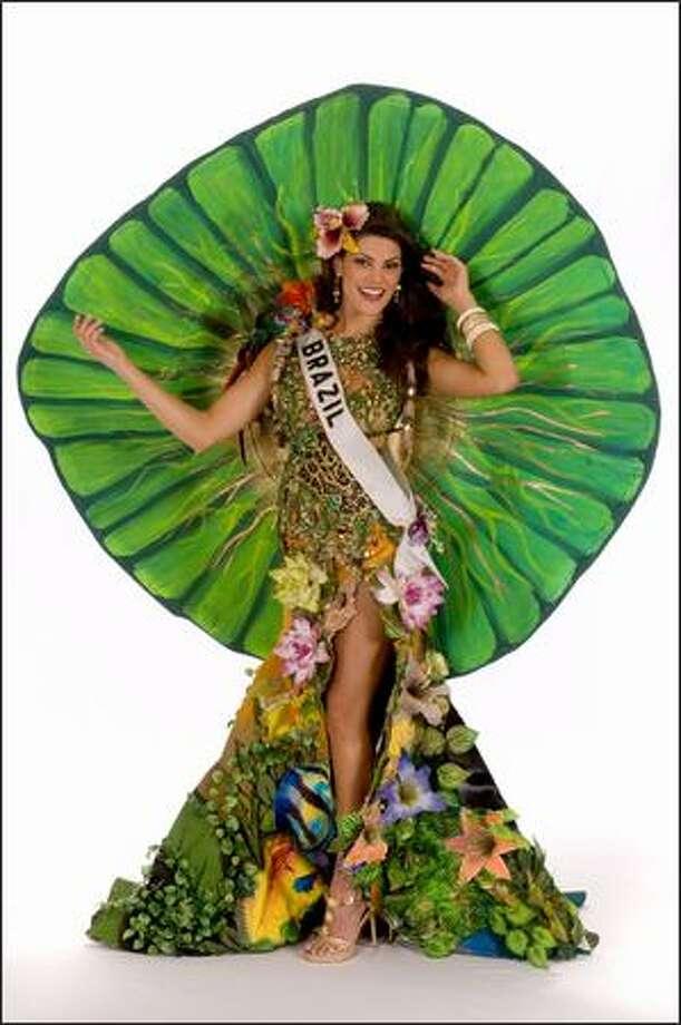 Natalia Anderle, Miss Brazil 2008. Photo: Miss Universe L.P., LLLP