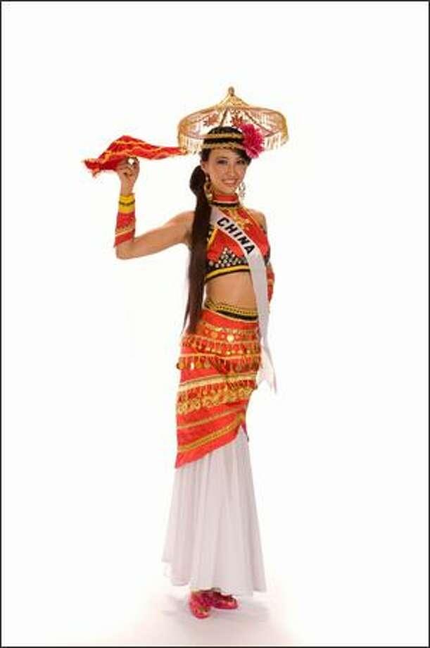 Ziya Wei, Miss China 2008. Photo: Miss Universe L.P., LLLP