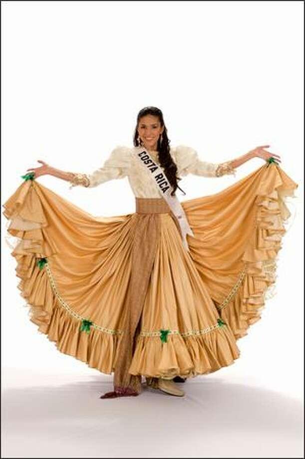 Maria Teresa Rodriguez, Miss Costa Rica 2008. Photo: Miss Universe L.P., LLLP