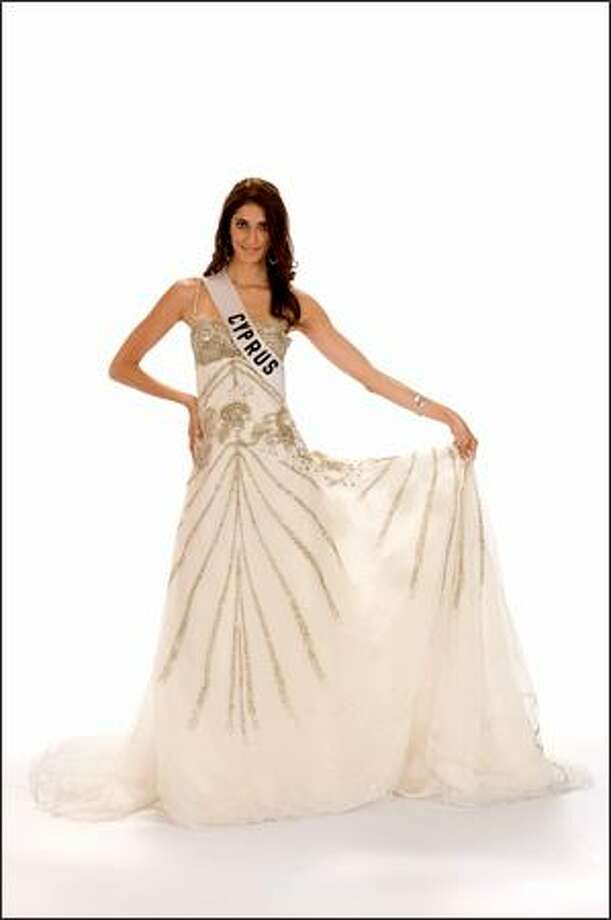Dimitra Sergiou, Miss Cyprus 2008. Photo: Miss Universe L.P., LLLP