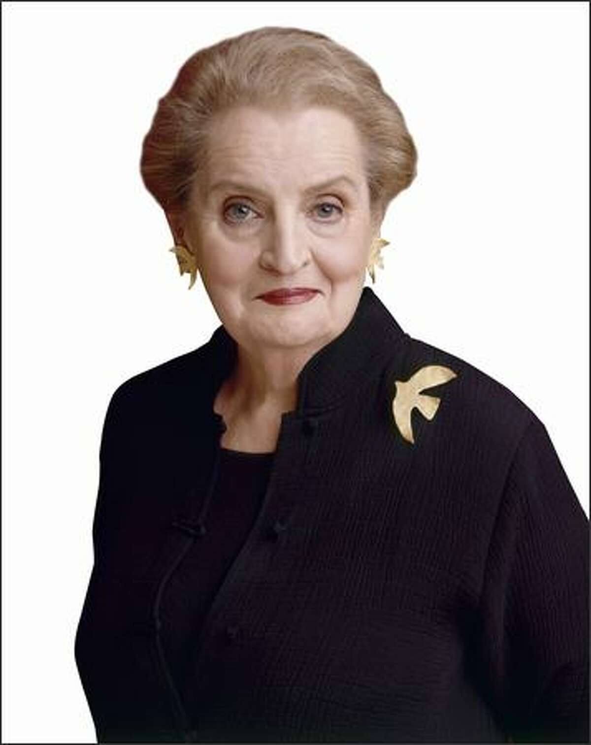 Former Secretary of State Madeleine Albright is the author of